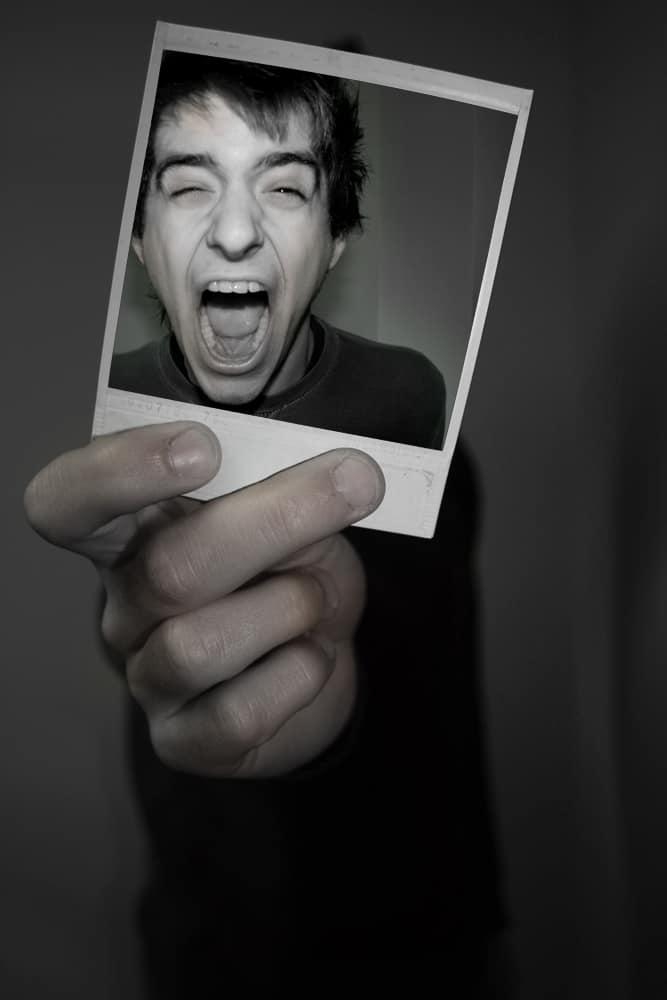 polaroid picture ideas selfie