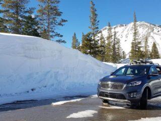 2017 sorento snow bank
