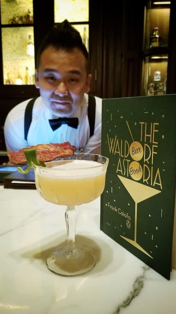 Shanghai China Waldorf Astoria Long Bar Cocktail - Must See, Do and Eat in Shanghai, the Paris of the East