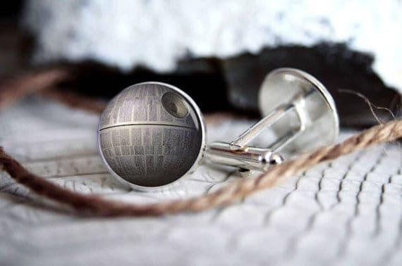 Star Wars Death Star Cufflinks