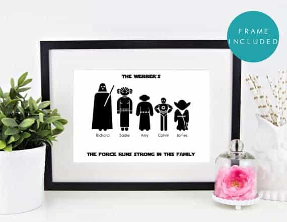 Star Wars Family Print
