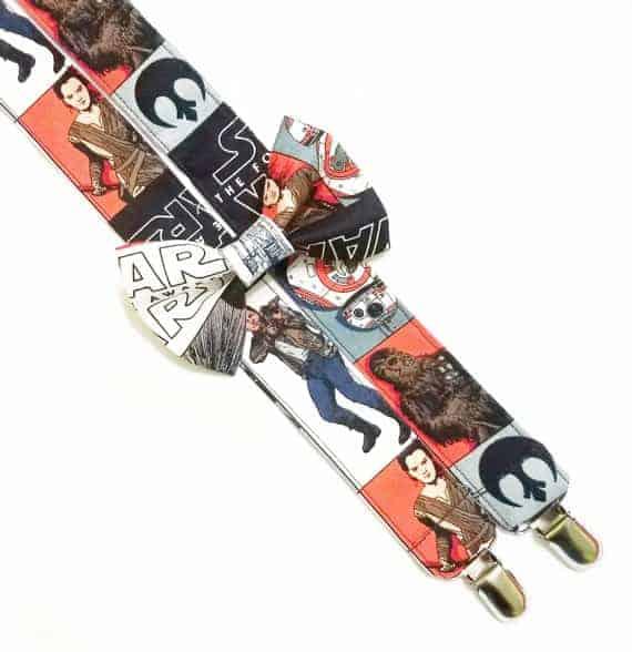 Star Wars Suspenders Set