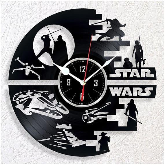 Star Wars Vinyl Wall Clock