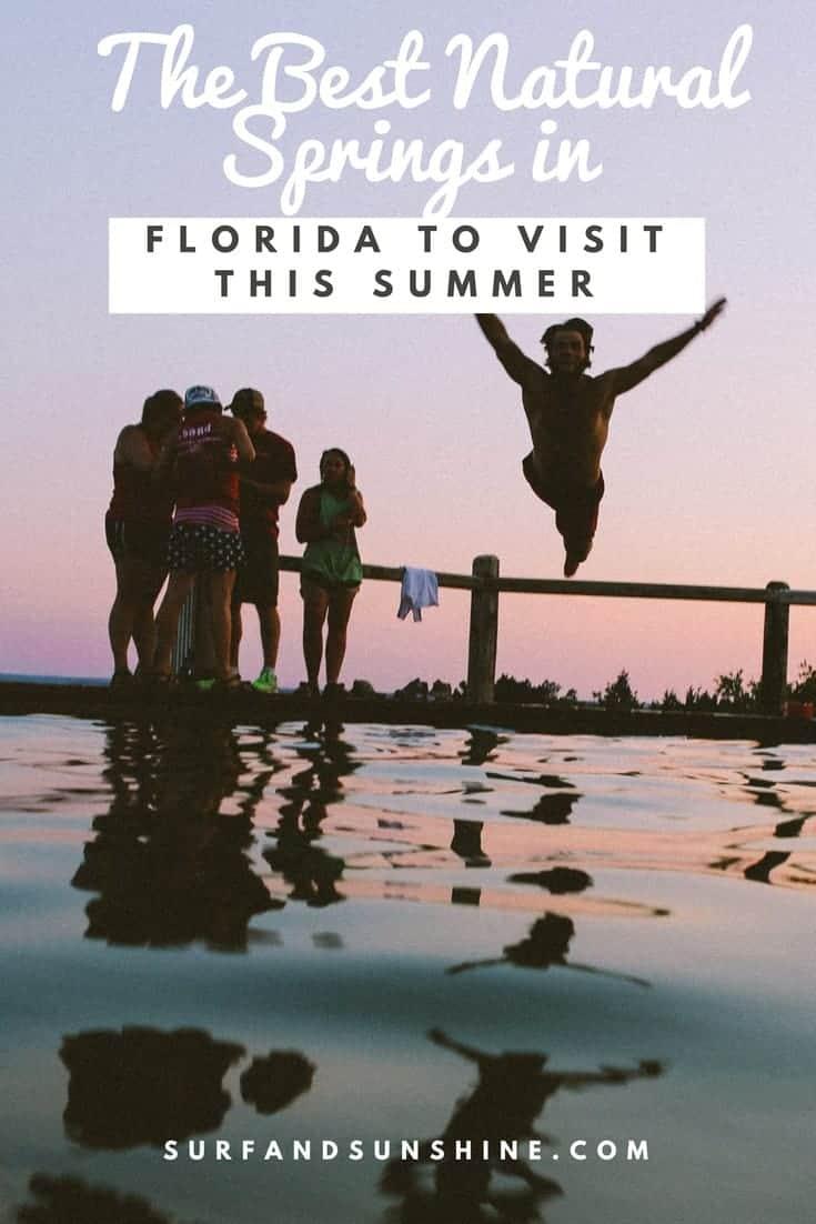 Best Natural Springs in Florida