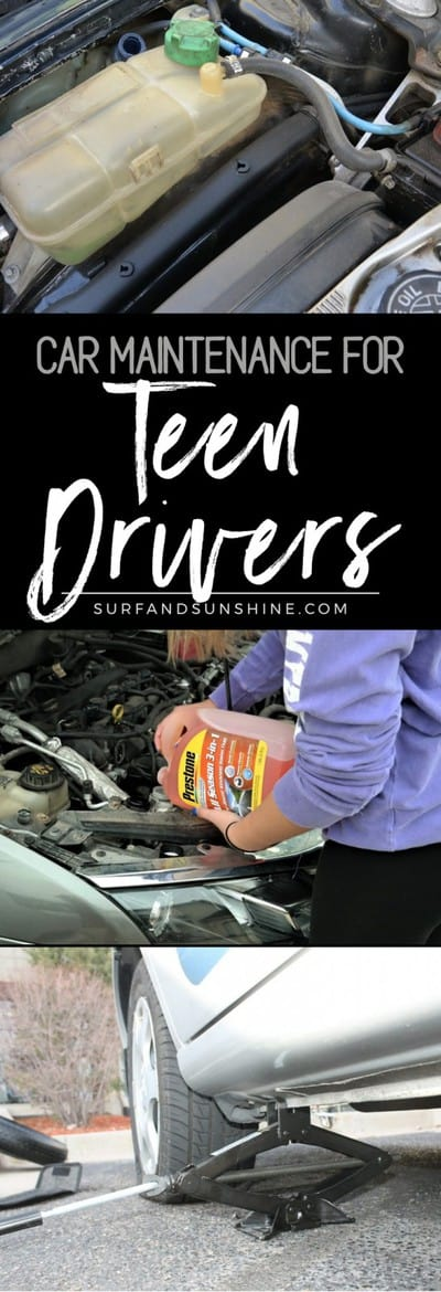 car maintenance tips for teens drivers