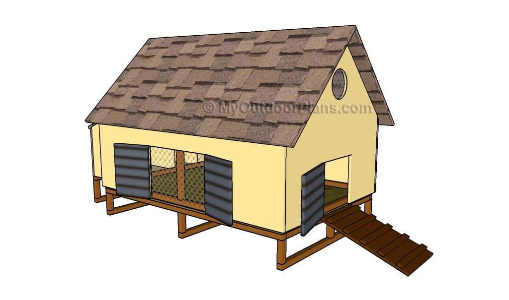 Free DIY Chicken Coop Plans