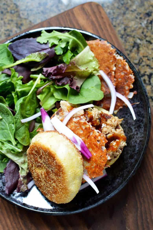 korean bbq pulled chicken sandwich recipe