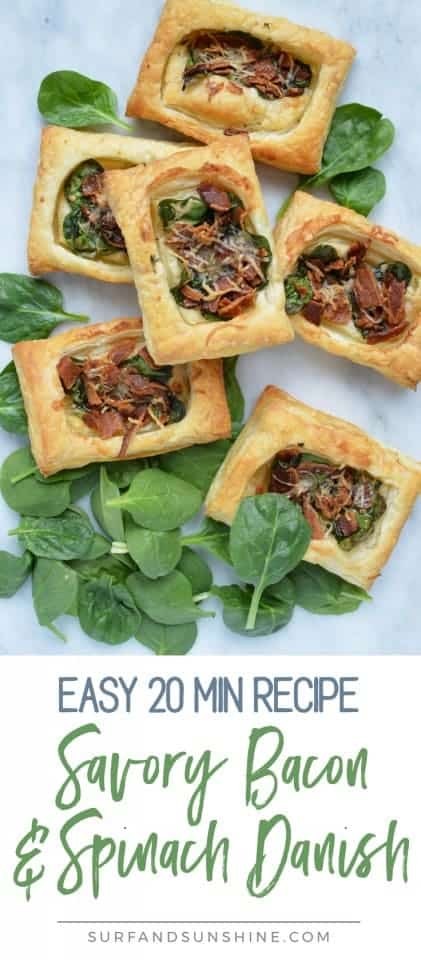bacon and spinach danish recipe pinterest new