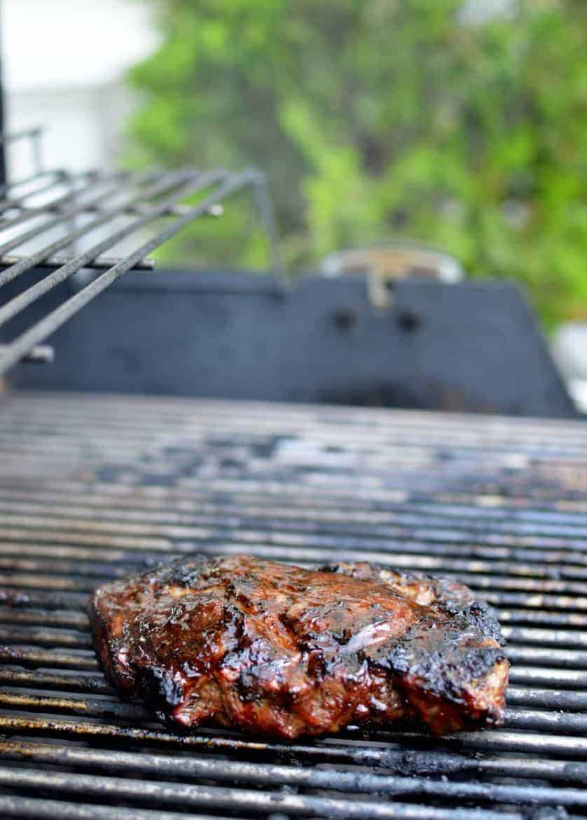 how to grill the perfect cowboy steak
