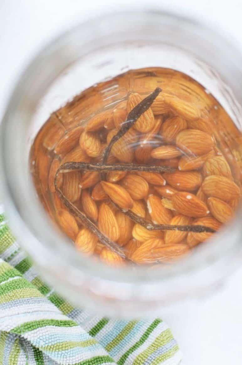DIY Homemade Vanilla Almond Milk Recipe