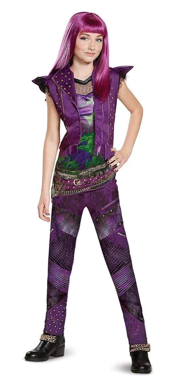Descendants Halloween Costume Ideas one peice mal costume
