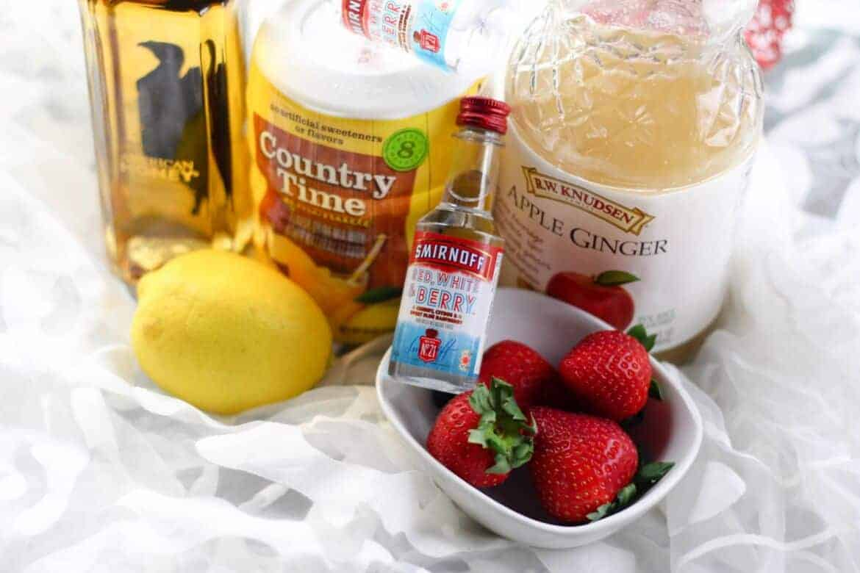 boozy strawberry lemonade recipe