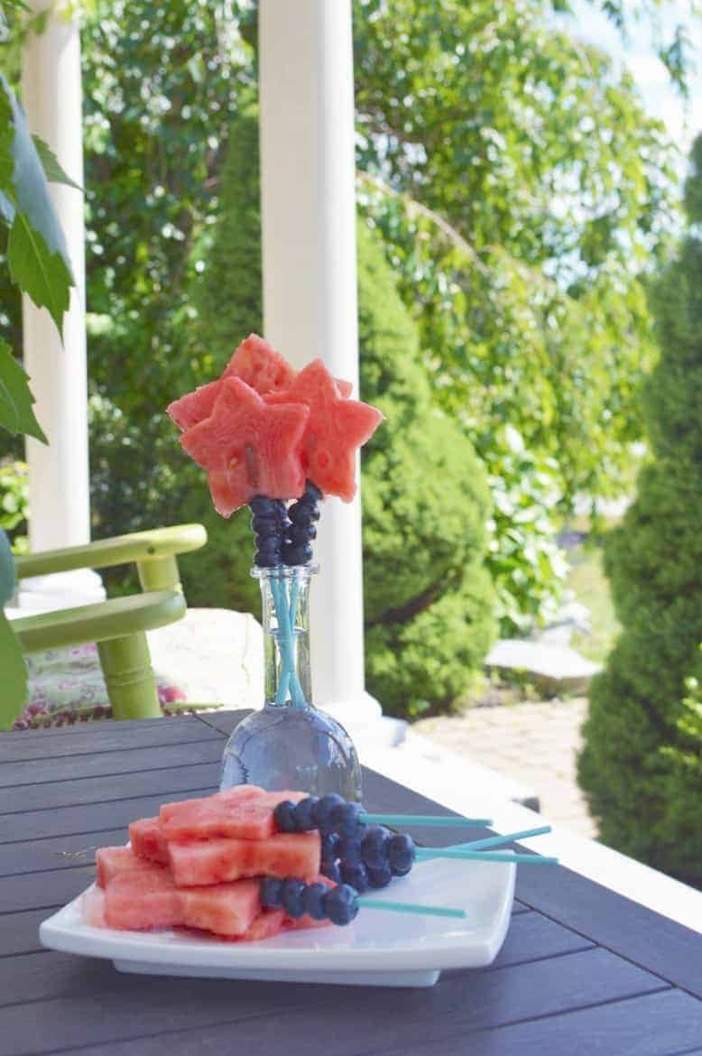red white and blue fruit sticks recipe 1