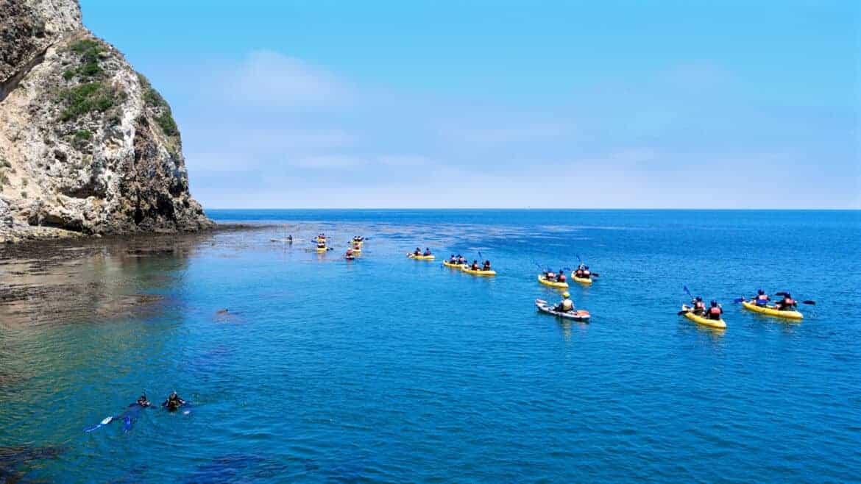 Channel Islands Ocean Kayakers Santa Barbara Weekend Ideas