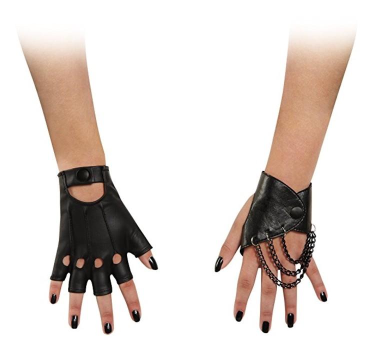 disney descendants disguise mal child gloves
