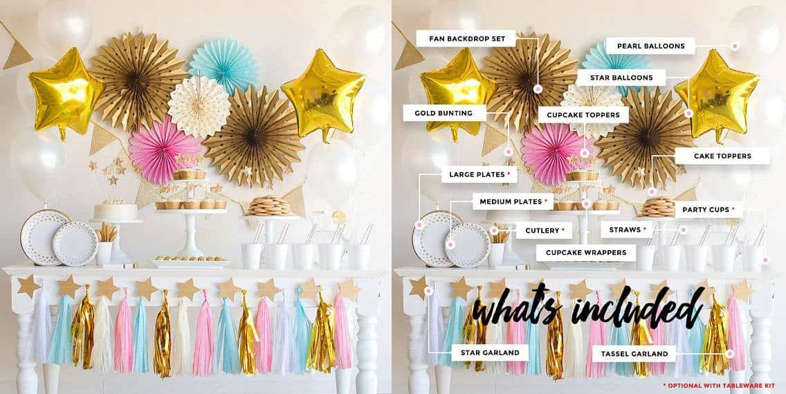 party decoration kit