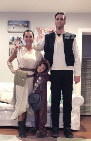 Star Wars Family Costume Idea
