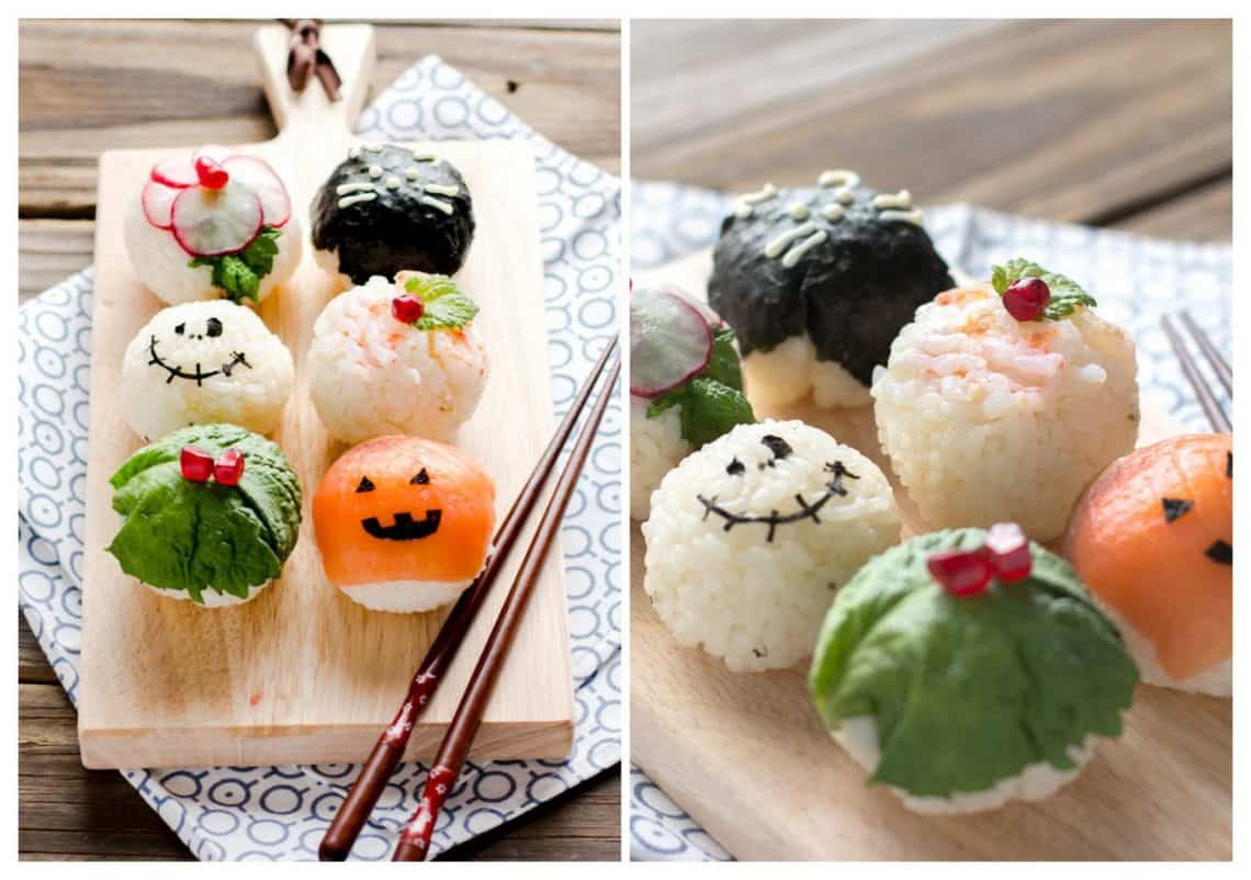 Sushi Balls 6 collage 1140x802 - 20 of the Best Recipes for Your Halloween Party