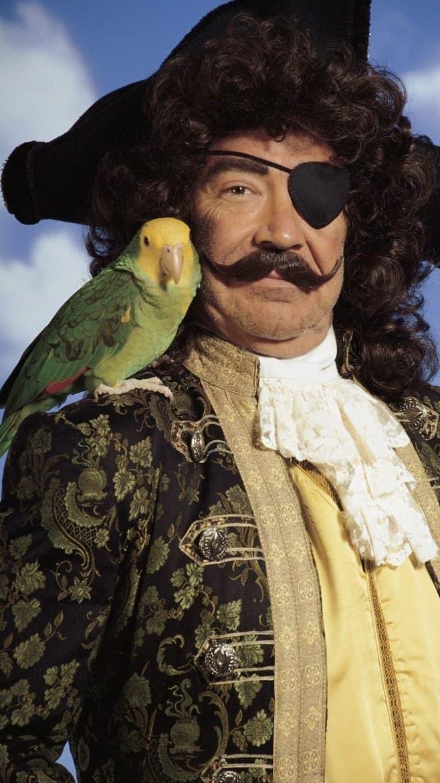Talk Like Pirate Lingo - Bird on shoulder