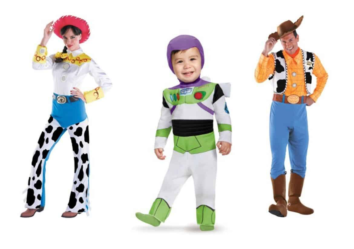adult toy story jessie costume collage - Check Out These 22 Amazing Family Halloween Costume Ideas