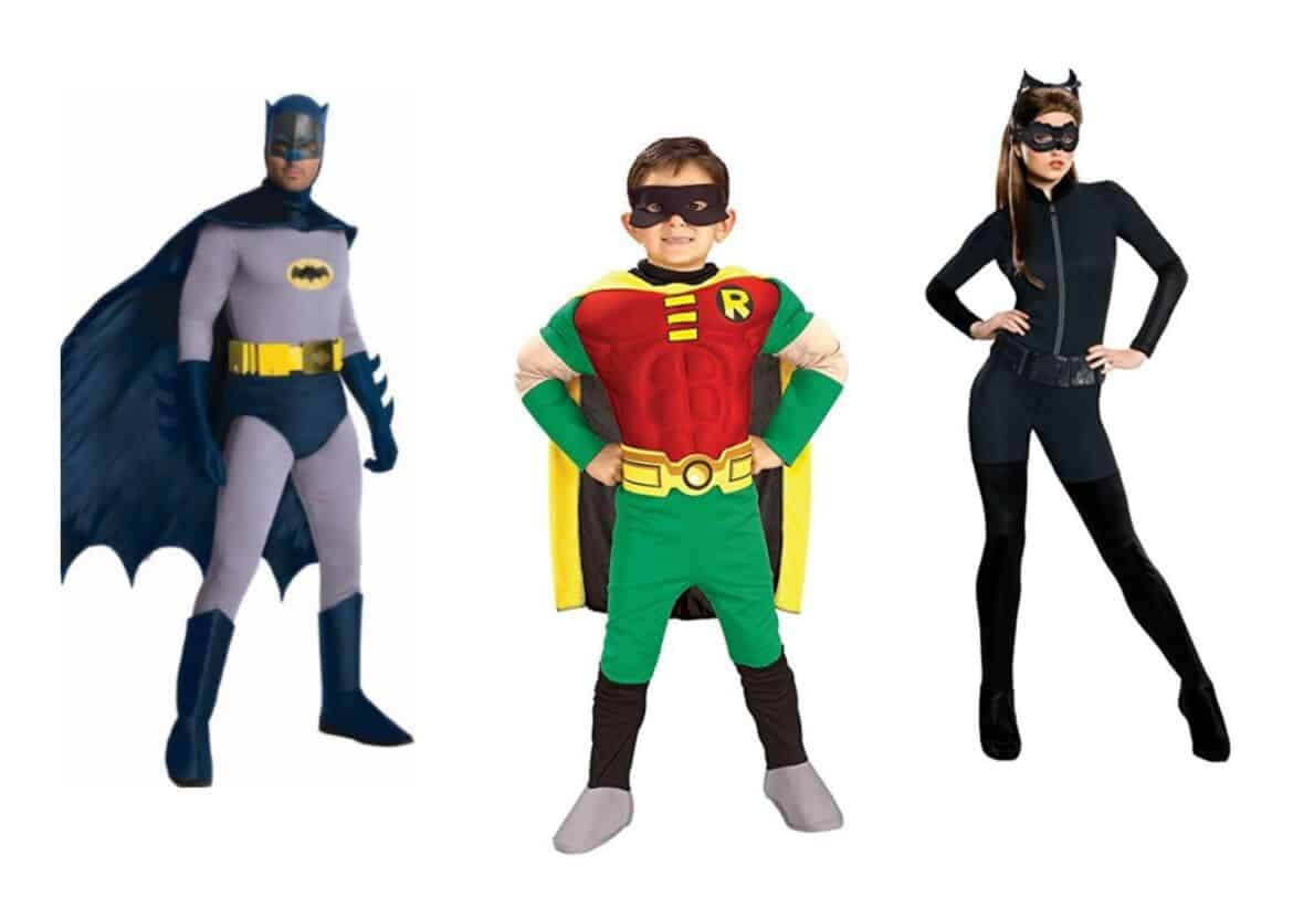batman collage - Check Out These 22 Amazing Family Halloween Costume Ideas