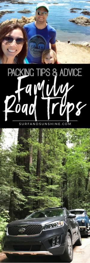 family road trip packing tips