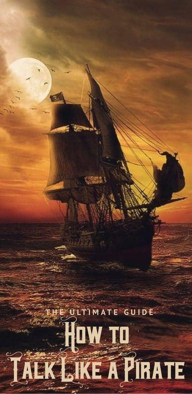 how to talk like a pirate lingo