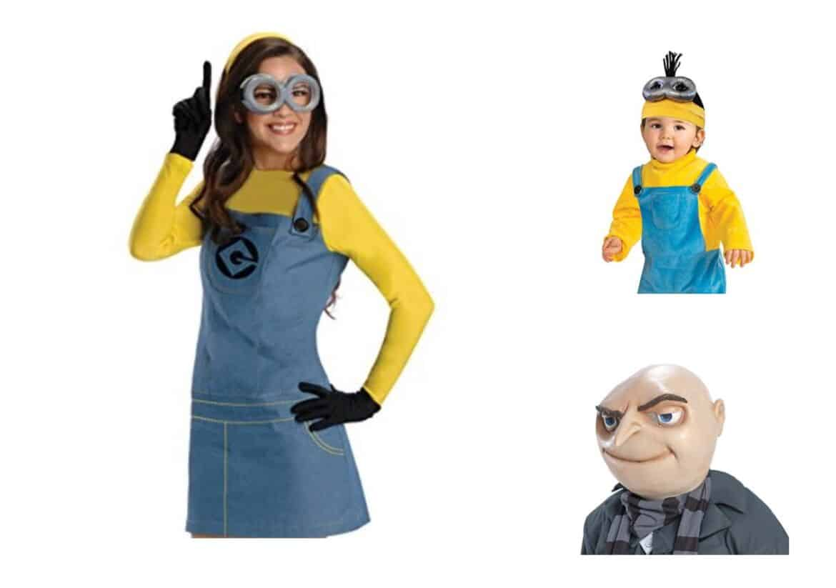 minion 1 collage - Check Out These 22 Amazing Family Halloween Costume Ideas