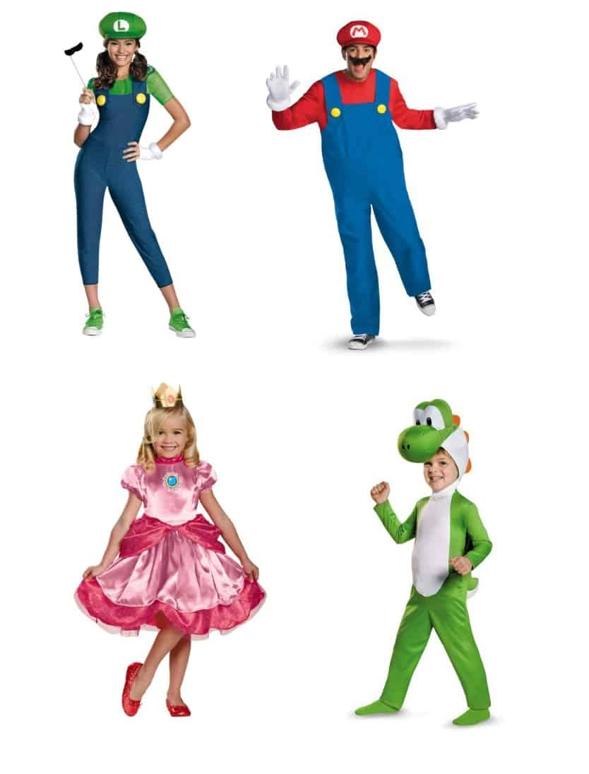 super mario brothers - Check Out These 22 Amazing Family Halloween Costume Ideas