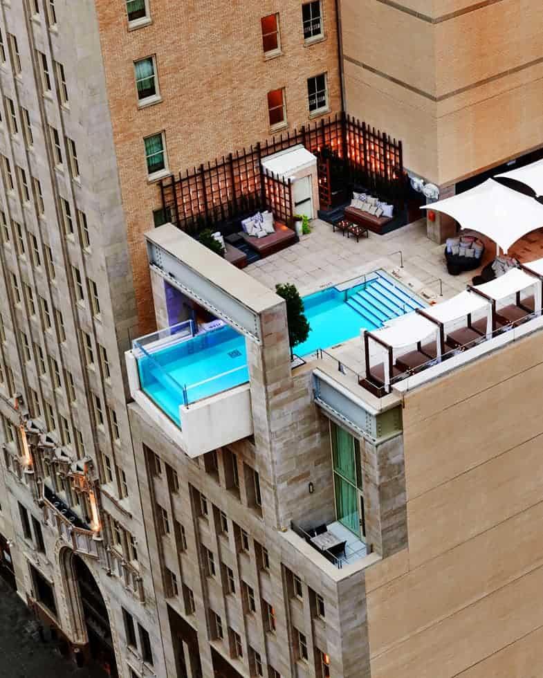 glass bottom pools cool pools