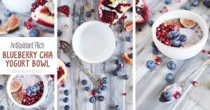 blueberry chia yogurt bowl recipe