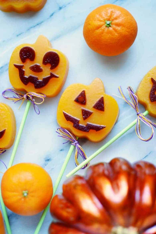 pumpkin jack o lantern halloween treats