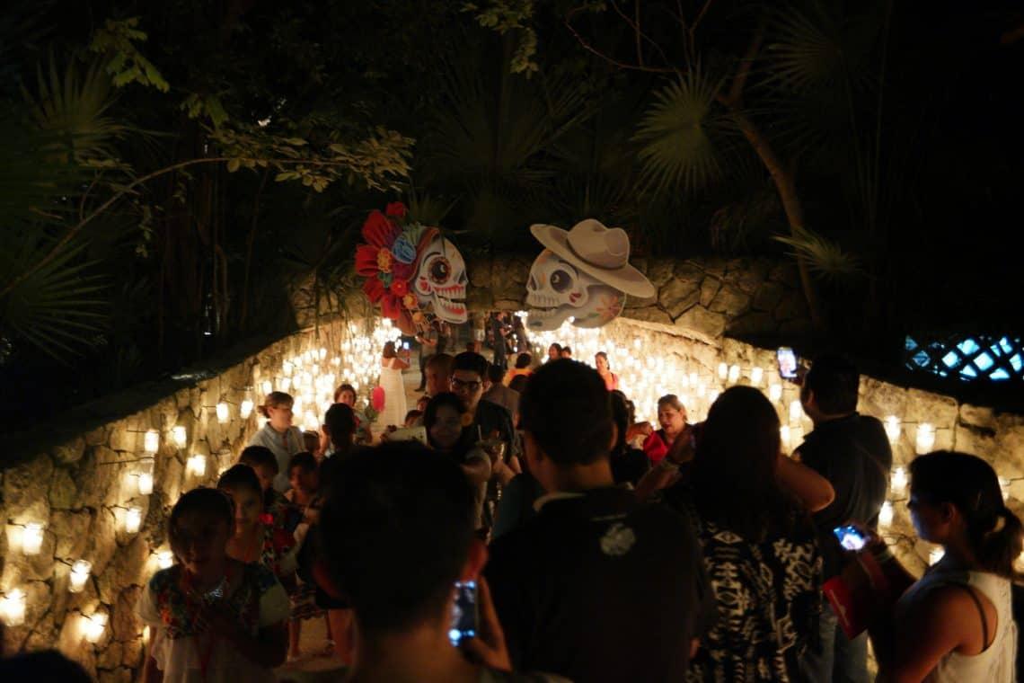 Dia de los Muertos Day of the Dead xcaret mexico