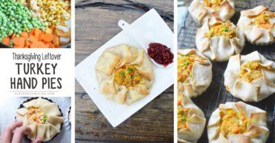 thanksgiving leftover turkey hand pie recipe