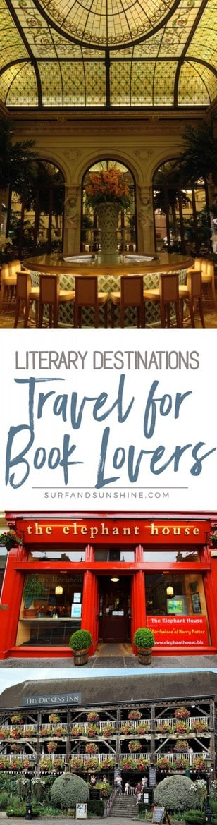 travel for book lovers
