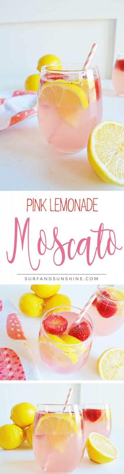 Pink Lemonade Moscato Recipe