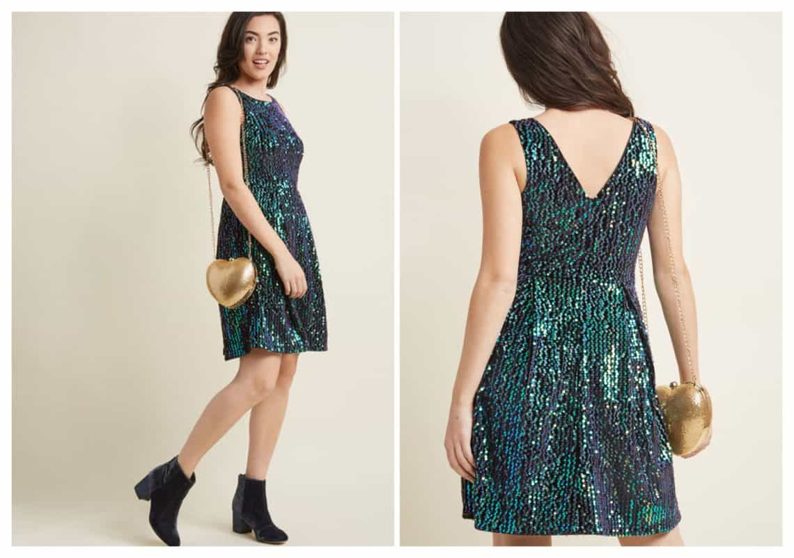 glitter dress 1 collage