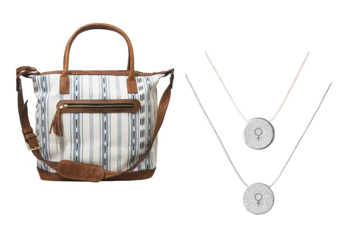 global goods bag collage - Holiday Gift Guide 2017: Gifts That Give Back