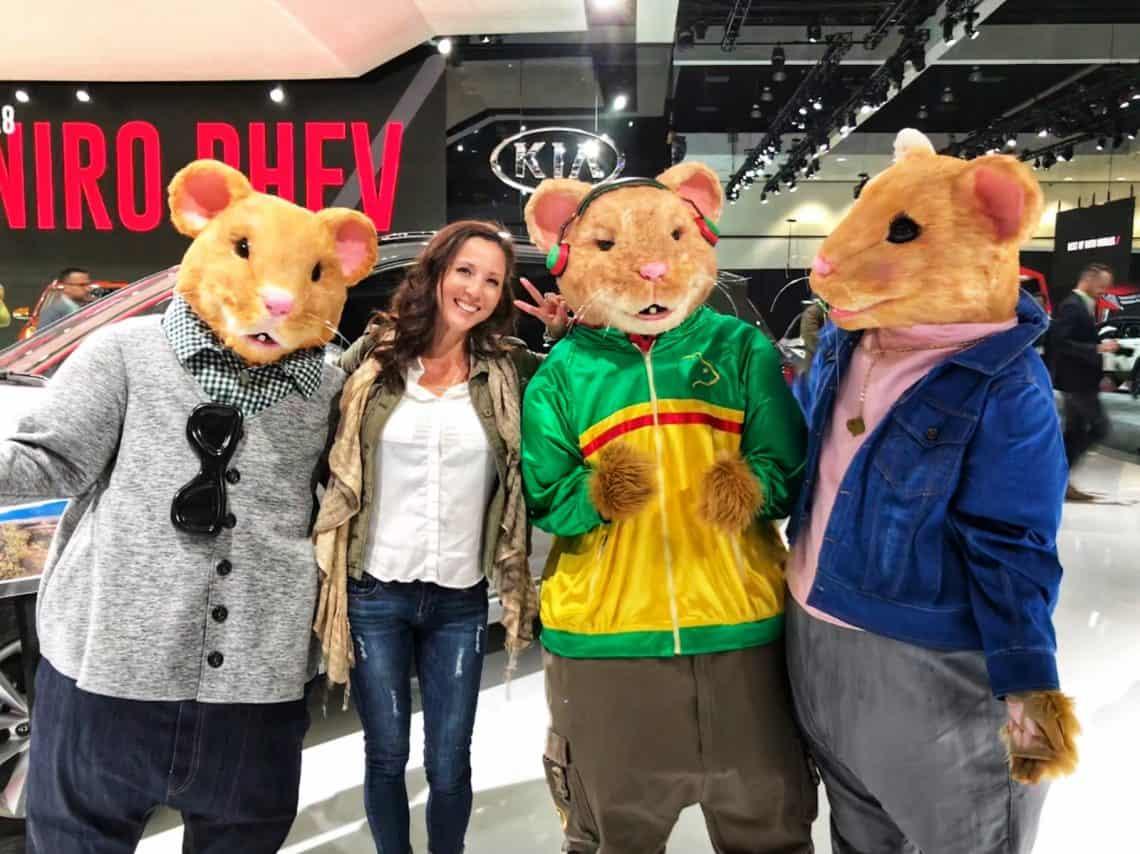 kia hamsters la auto show