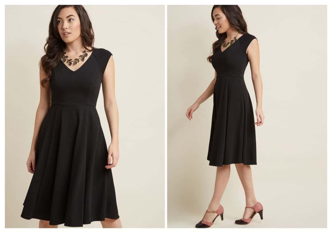 little black dress 1 collage