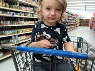 Stop Being the Embarrassed Mom at the Grocery Store