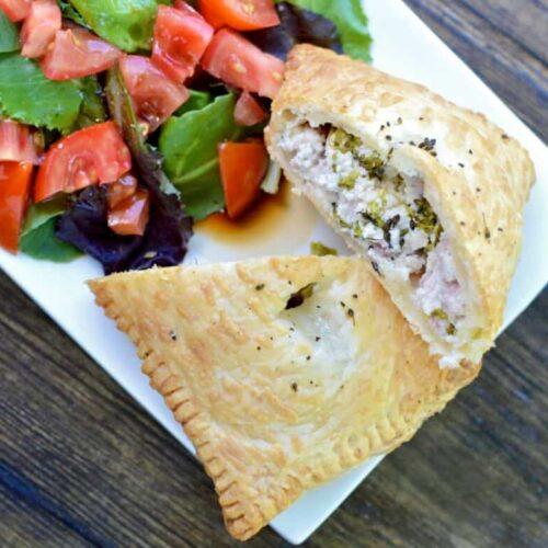 ham and ricotta pastry puff pockets recipe 5