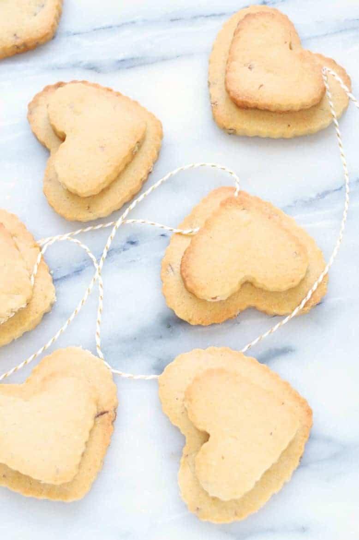 valentine pecan shortbread cookies recipe fixed