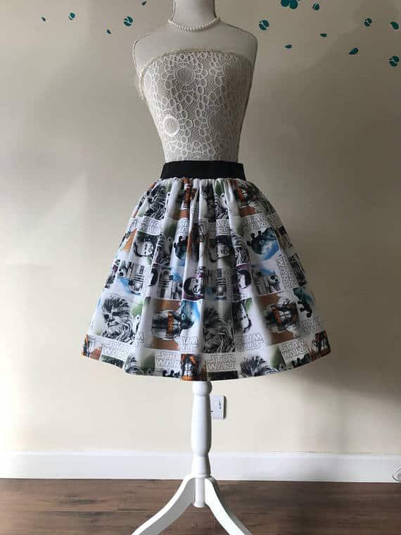 Gift Ideas for Star Wars The Last Jedi Fans Episode 8 Skirt