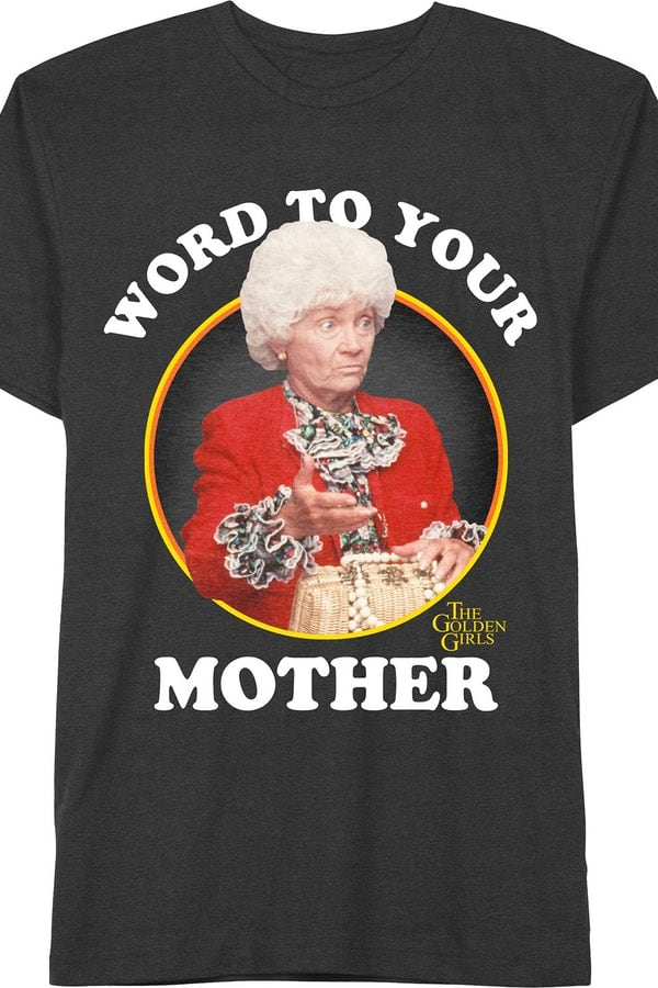 Funny 80s T Shirts Golden Girls - 20 Funny 80s T-Shirts You Can't Live Without