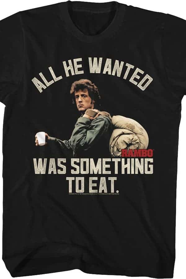 Funny 80s T Shirts Rambo - 20 Funny 80s T-Shirts You Can't Live Without