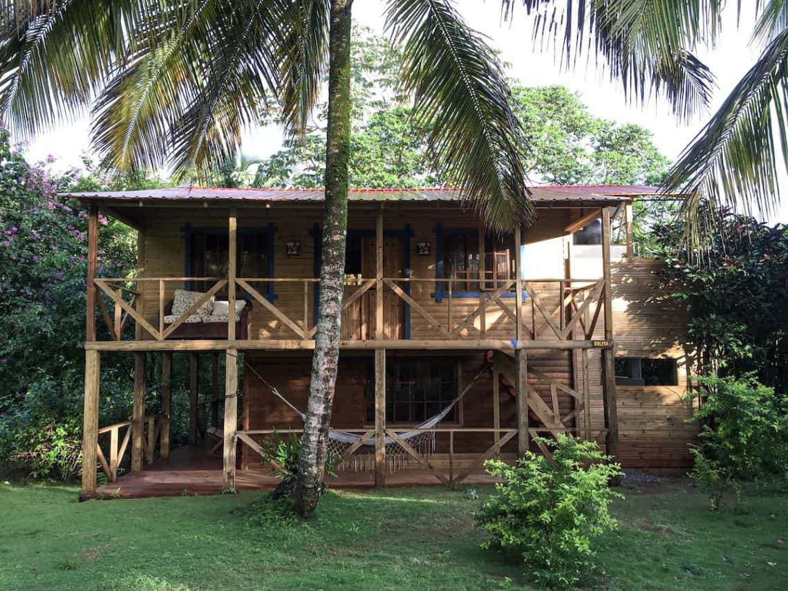 Ecocamp La Sangria is situated in the Samana region of the Dominican Republic.