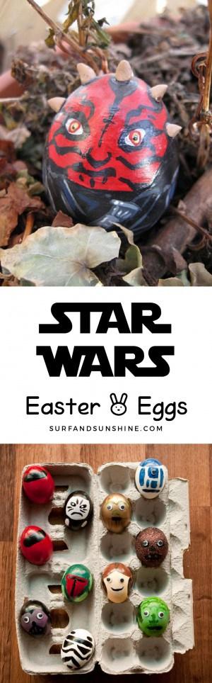 star wars easter eggs pinterest