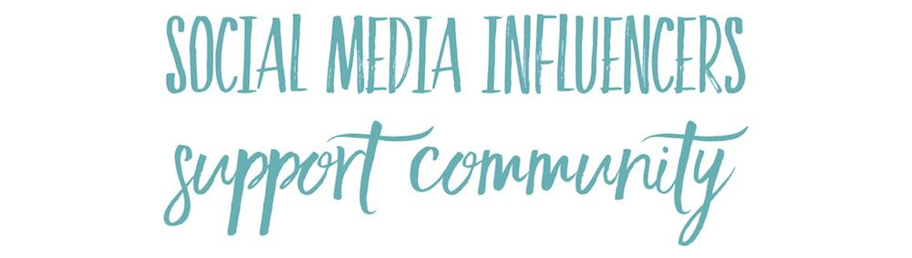 Social Media Influencers Support Community USE ME