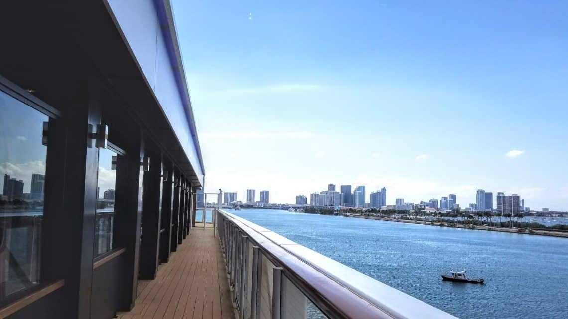 Norwegian Bliss walking and jogging track